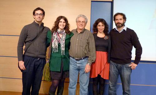 Unidad Mindfulness junto a Fernando de Torrijos (al centro)