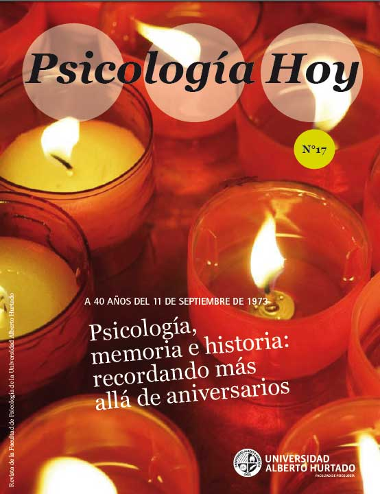 Psicología, memoria e historia: recordando más allá de aniversarios